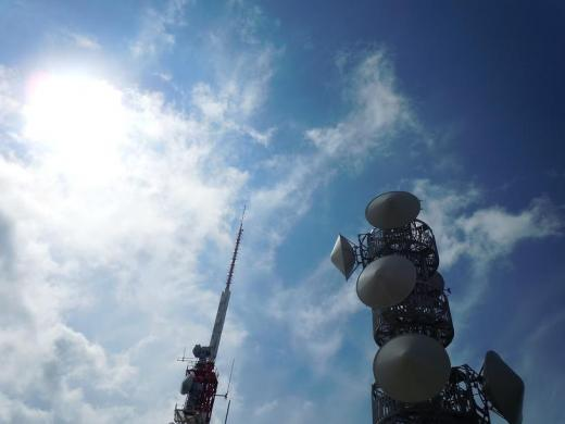 2010.09.26皿倉山山頂のテレビ塔2