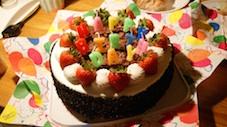 2011.8.30 吉カリバースデー・ケーキ
