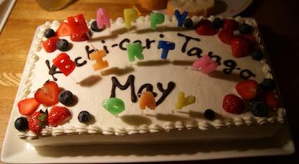 5月お誕生祝い