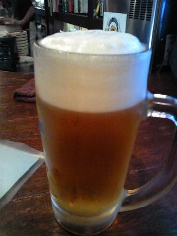 画像/泡こんもり生ビール