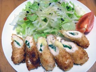 画像/鶏ささみチーズしそ巻きフライ