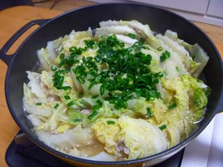 画像/豚バラと白菜の重ね鍋1