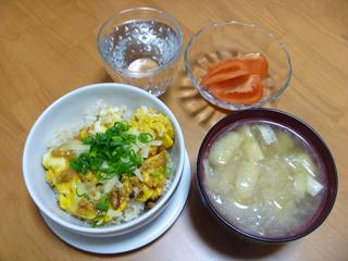 画像/ケンタロウのツナオムレツ丼?1