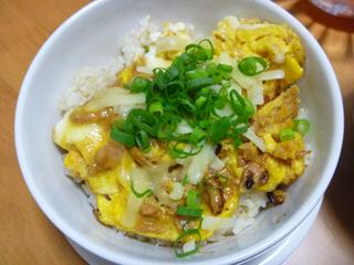 画像/ケンタロウのツナオムレツ丼?2