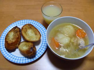 画像/鶏のスープ他