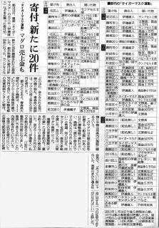 画像/2011年1月15日付 朝日新聞朝刊 記事