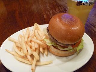 画像/ヴィレバンダイナーのハンバーガー