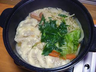 画像/スープ餃子鍋1