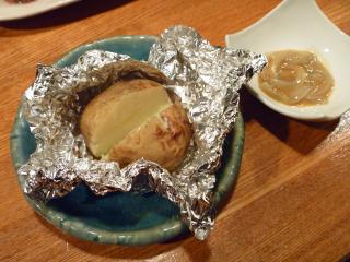画像/じゃがバター焼き&塩辛