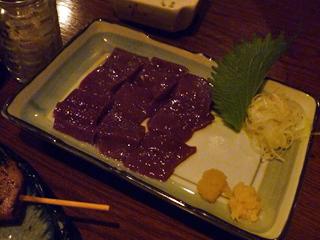 画像/やきとり処 Katsuの新鮮レバ刺