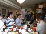 5月8日 歓送迎会 斉藤先生2