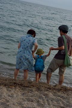みんなで海へ