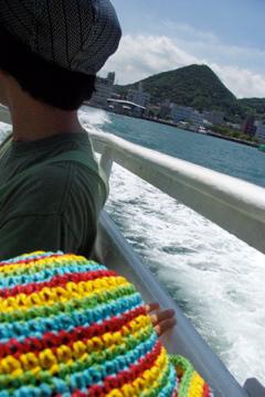 船で関門海峡