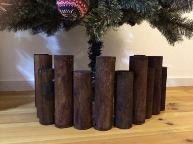 クリスマスツリー 足隠し