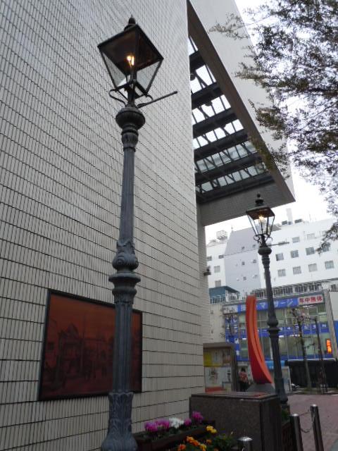 日本初期のガス灯