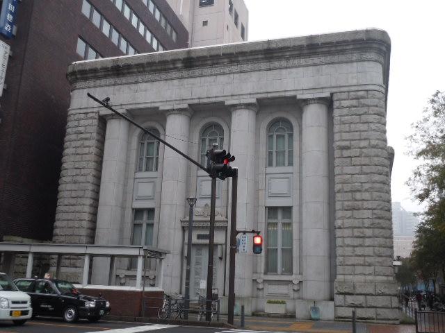 旧富士銀行横浜支店 正面