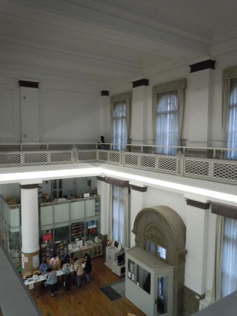 旧富士銀行横浜支店 室内