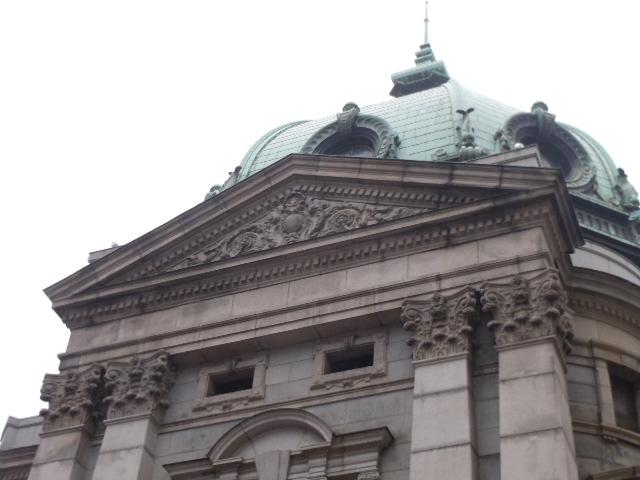 横浜正金銀行 ペディメント