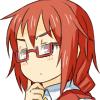 (とりあえず眼鏡かけてみて悩んでるっぽくしてみた)