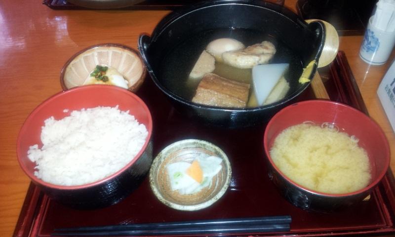 20121205おでん定食