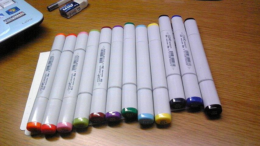 FC2ブログ用 コピックペン