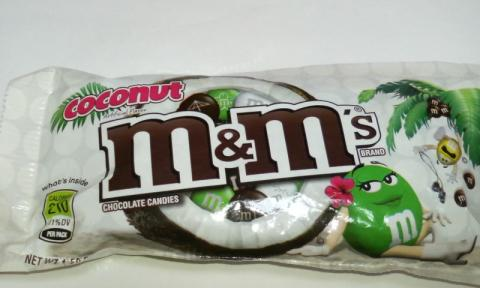 m&m's coconut