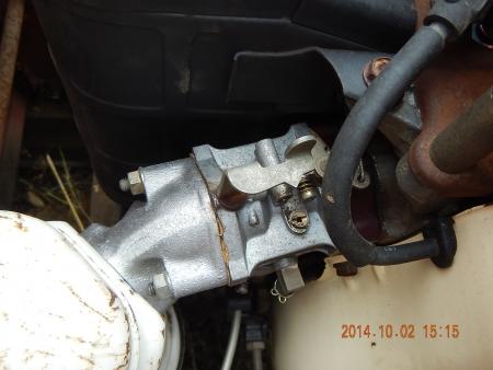 コンバインエンジン載せ替え (5)