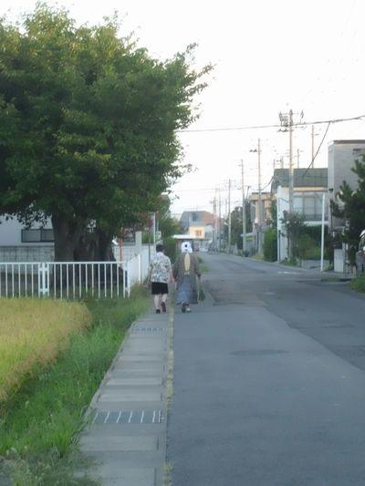 二人の散歩
