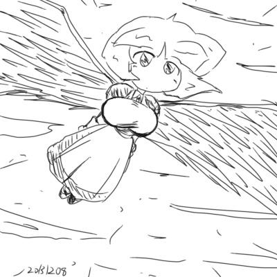 2013年12月8日羽根子さん