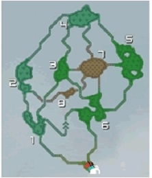 樹海MAP