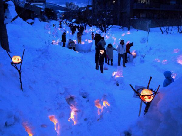 小樽雪あかりの路3