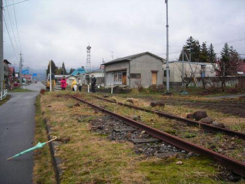 縮小旧国鉄日中線加納駅24年ブログ 003