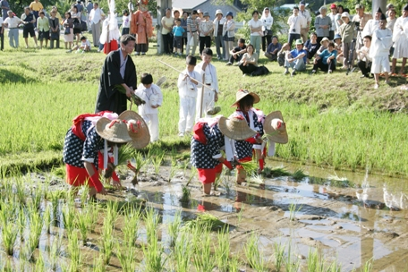 7月慶徳お田植え祭り2
