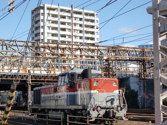 JR貨物&神戸線側の淀川橋梁01