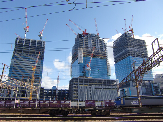 JR貨物&神戸線側の淀川橋梁05