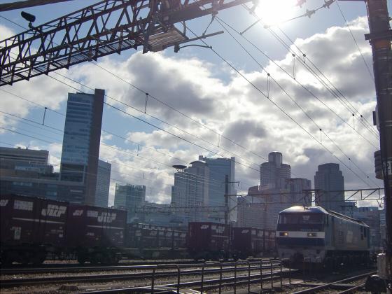 JR貨物&神戸線側の淀川橋梁06