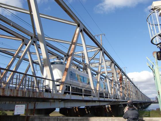 JR貨物&神戸線側の淀川橋梁10