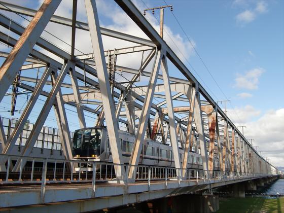 JR貨物&神戸線側の淀川橋梁11