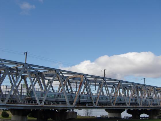 JR貨物&神戸線側の淀川橋梁13