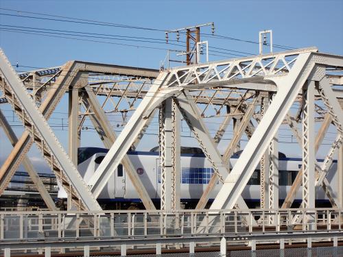 上淀川橋梁で日本海02