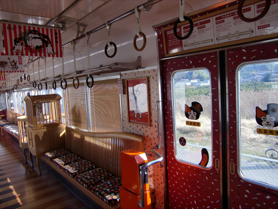 和歌山電鉄のたま電車・おもちゃ電車など04