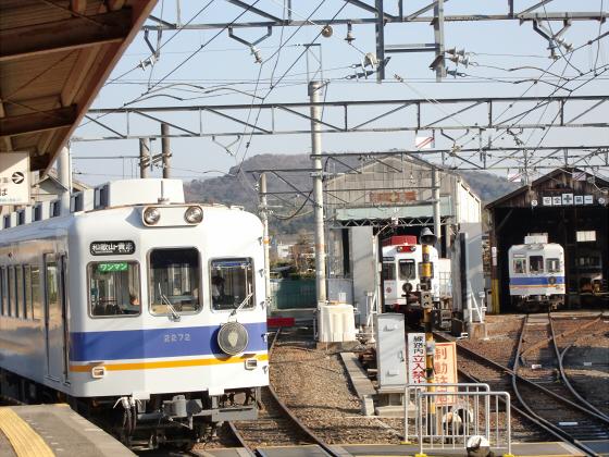 和歌山電鉄のたま電車・おもちゃ電車など17