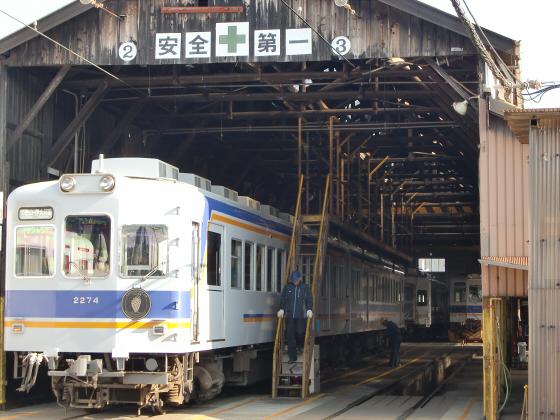 和歌山電鉄のたま電車・おもちゃ電車など19