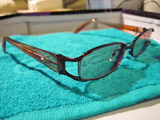Charoite eyewear メタル×セル コンビフレーム2