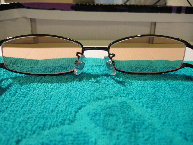 Charoite eyewear メタル×セル コンビフレーム3