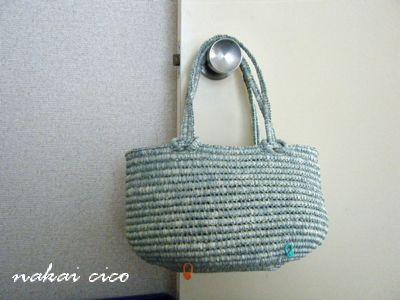 つつみ編みバッグ5