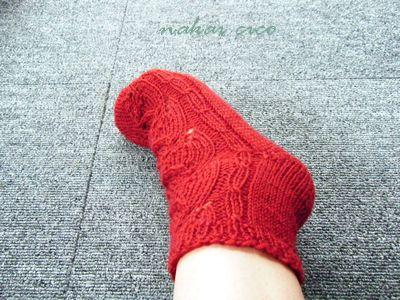 講習靴下2の4