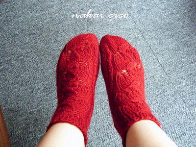 講習靴下2の5