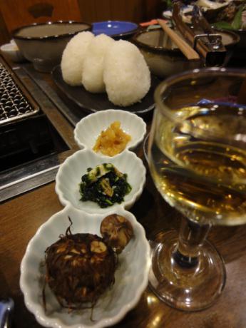 食前酒&箸休め!