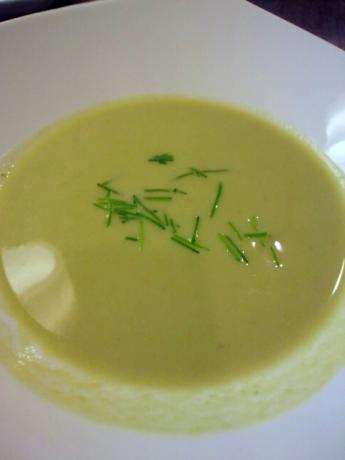 アスパラガスのスープ!